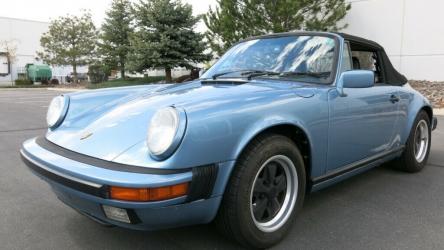 1987 Porsche 911 2dr Cabriolet