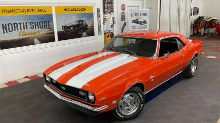 1968 Chevrolet Camaro – SUPER SPORT – 396 ENGINE – HUGGER ORANGE – SEE V