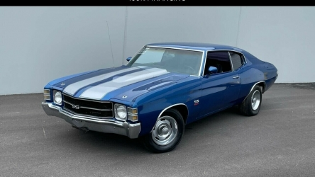 1971 Chevrolet Chevelle BIG BLOCK-AUTOMATIC-12BOLT-BUCKETS