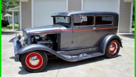 1930 Ford Model A Tudor Sedan / Steel Body Resto-Mod  / A/C