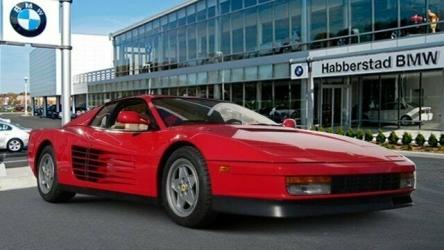 1990 Ferrari Testarossa 2 Door Coupe