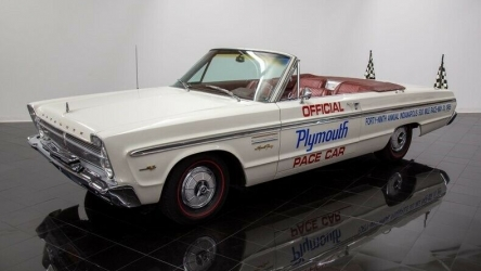 1965 Plymouth Fury Convertible Pace Car