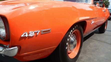 1969 Chevrolet Camaro basic black